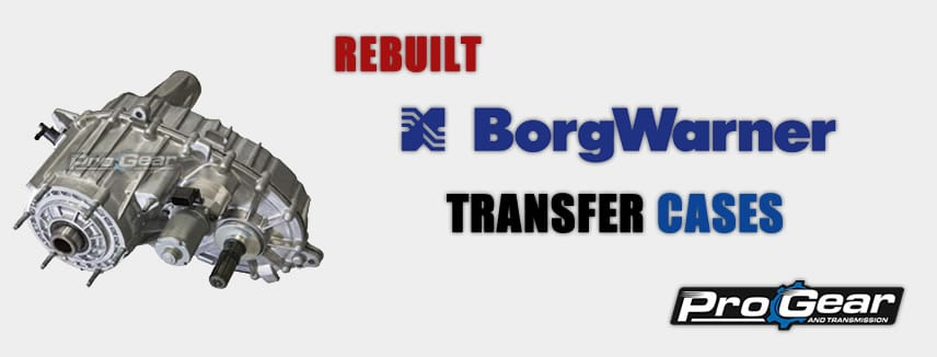 BorgWarner Transfer Case Manual