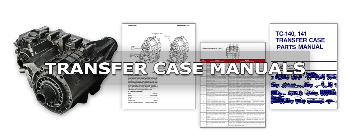 transfer case manuals